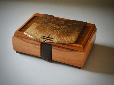 Fiery Walnut Box #4