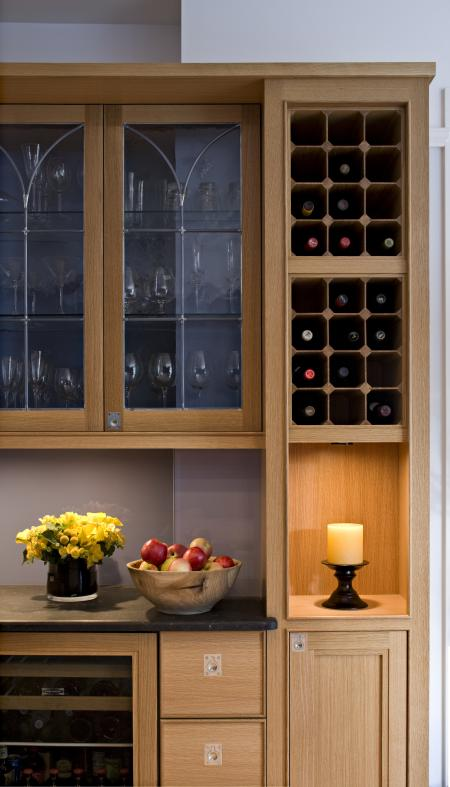 Wine Collector's Wet Bar