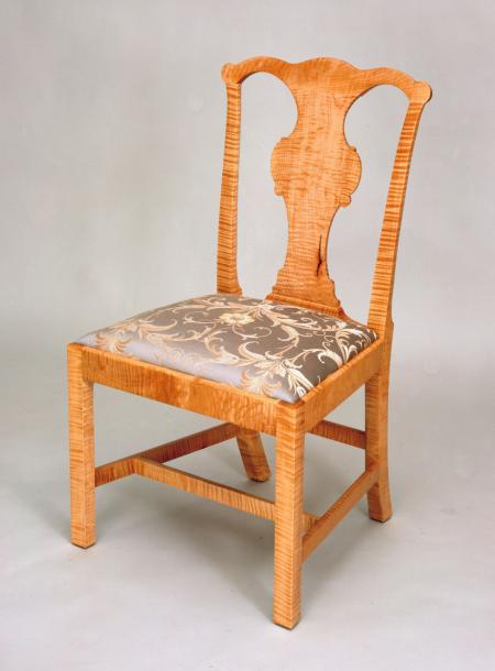 Curly Maple Side Chair