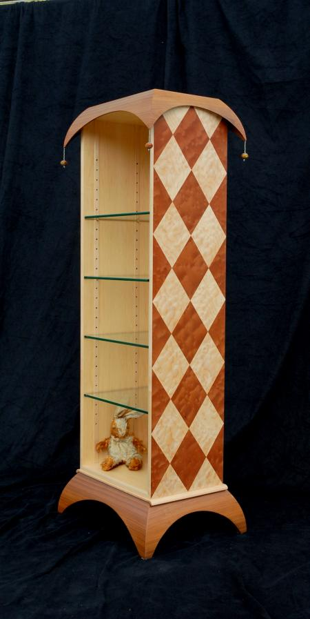 Harlequin Bookcase