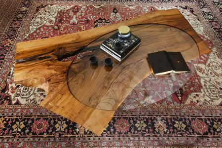 Dished Coffee Table