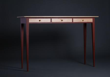 Red Hall Table
