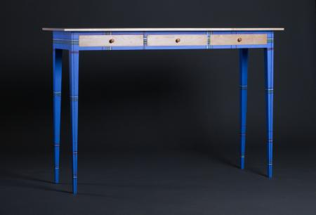 Blue Hall Table
