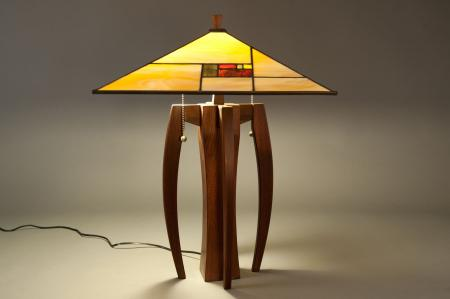 Walkabout Lamp with Prairie Shade