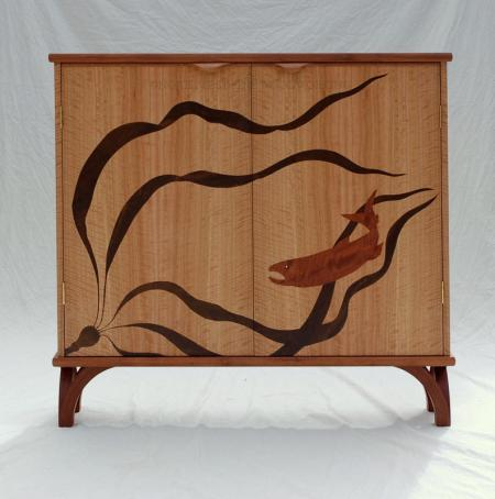 Salmon and Kelp DVD Cabinet