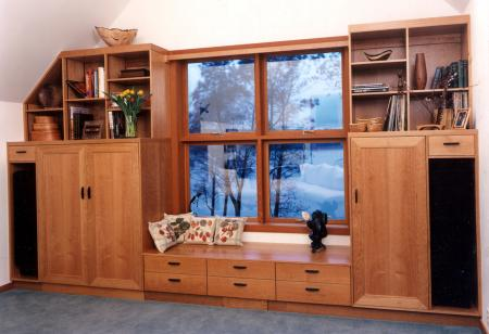Entertainment and Storage Cabinets
