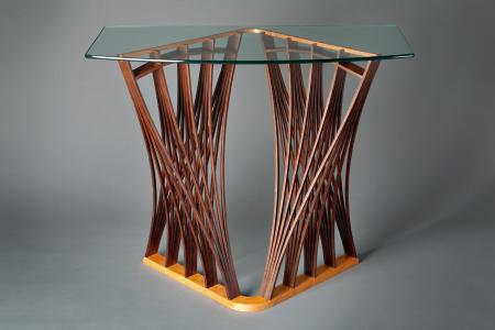 Parabola hall table