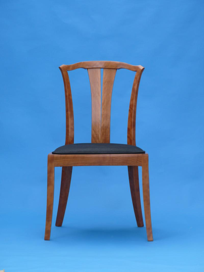 These chairs are made from high fugure veneer logs I buy directly from the saw mill in Pennsylvania.