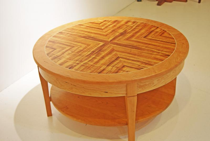 koa and cherry table