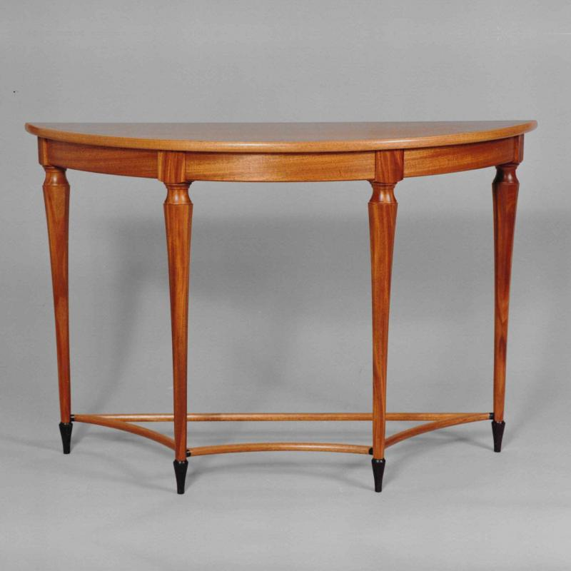 Demi-lune Hall Table Micheal Neiman
