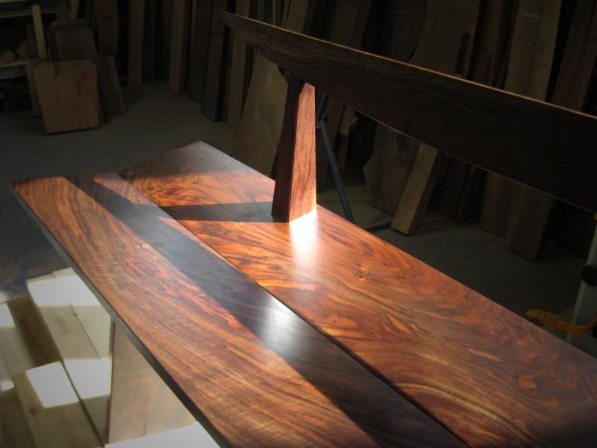 Doig Bench Northwest Woodworkers Gallery
