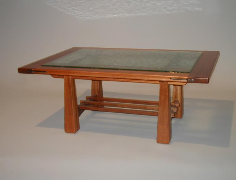 Fused Glass Coffee Table