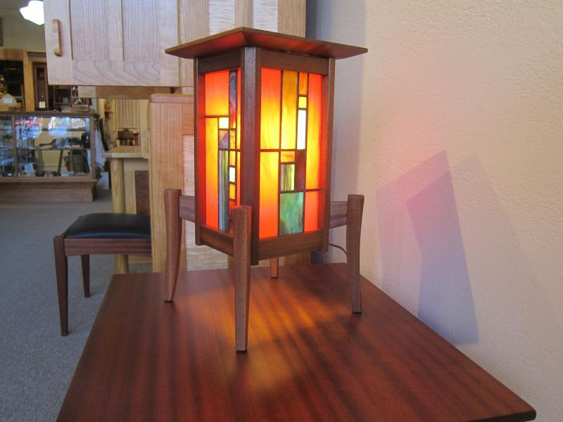 Golden Mean Lantern in Red