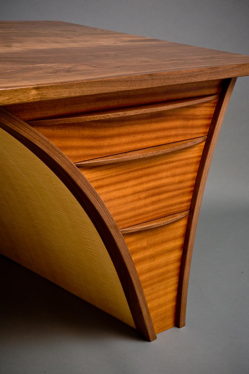 Trimerous Desk Northwest Woodworkers Gallery