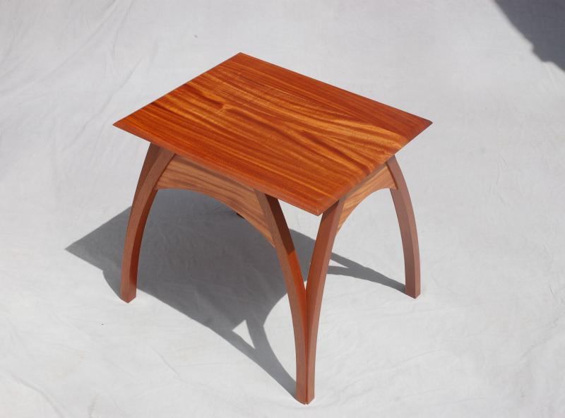 Split Leg End Table