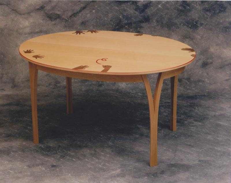 Hands on Dining table