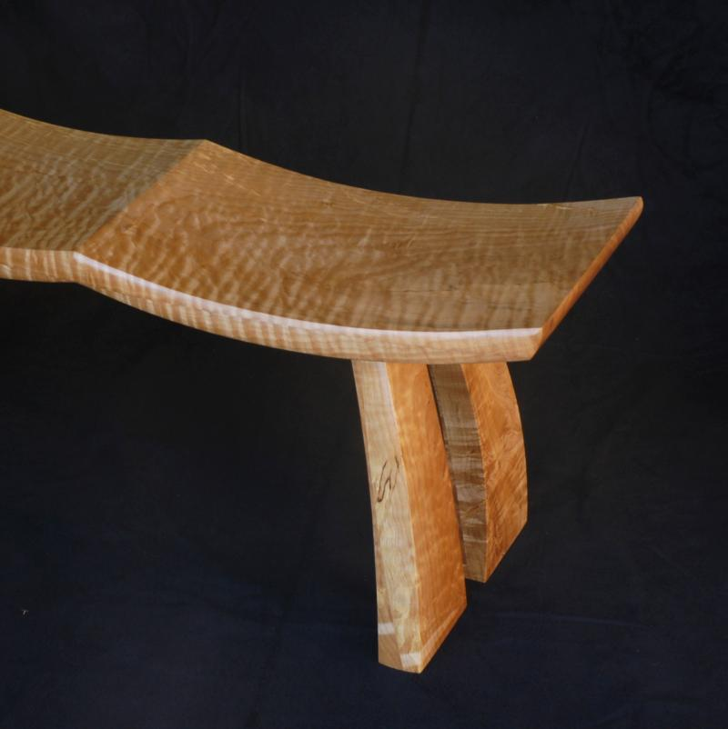 Wind Swept Bench for Two