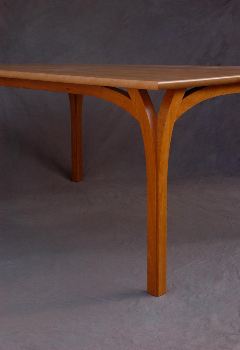 Roland Dining Table Cherry top and base