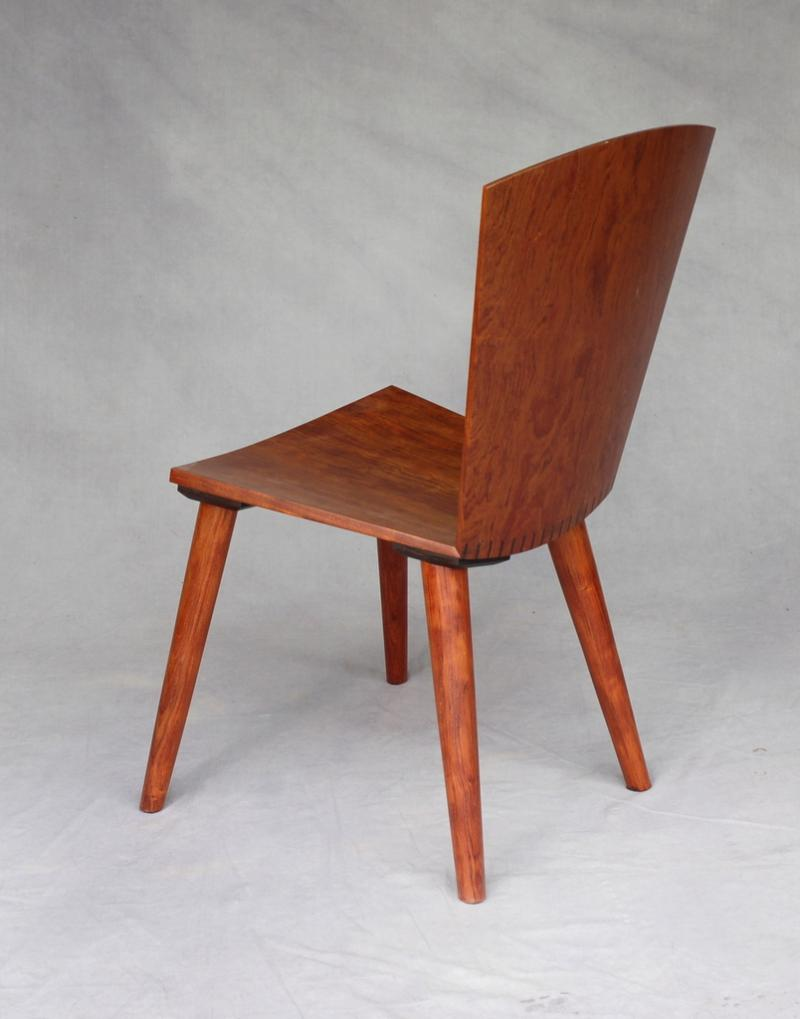 Akira Dining chair with 4 legs
