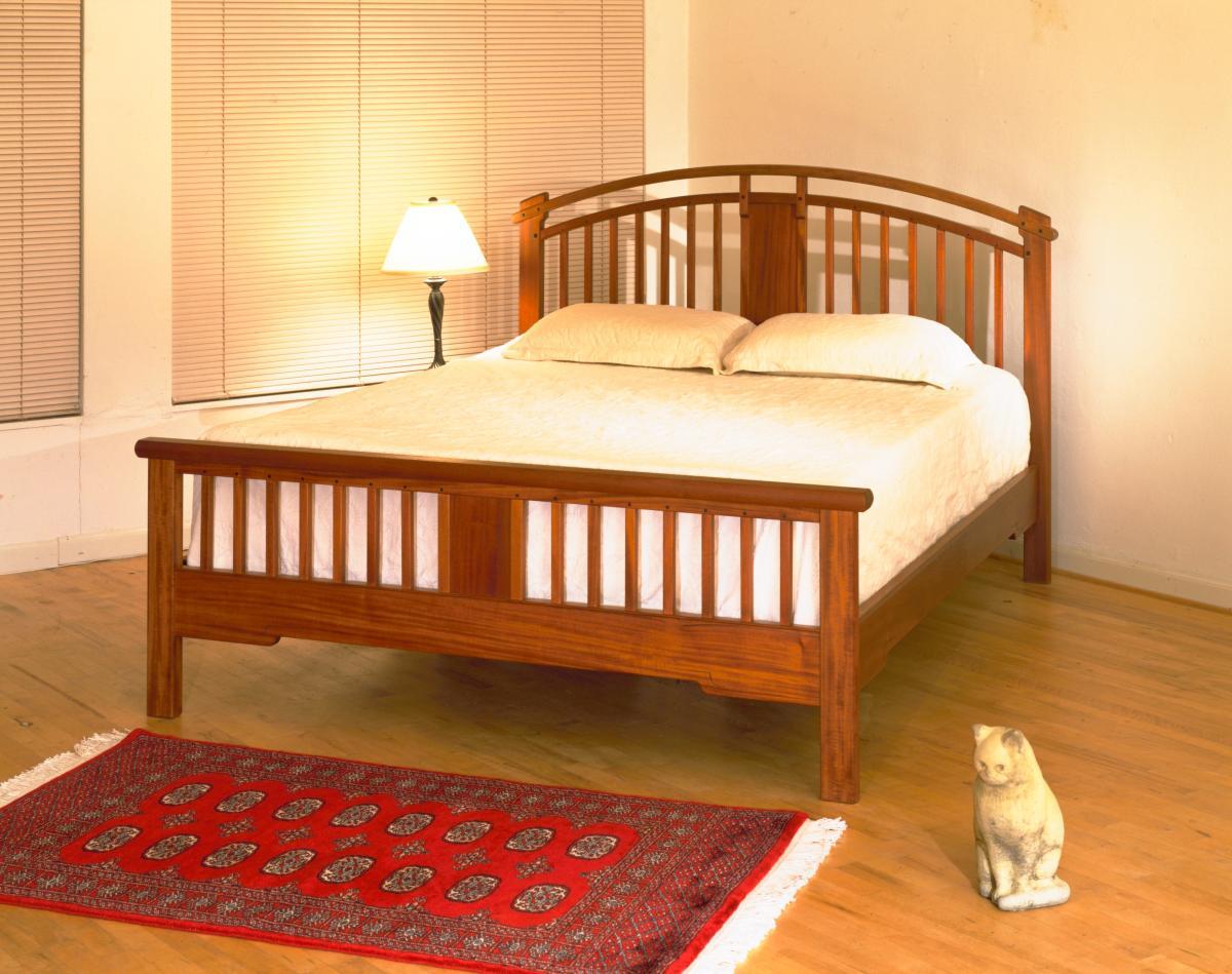 Arts Crafts Queen Bed