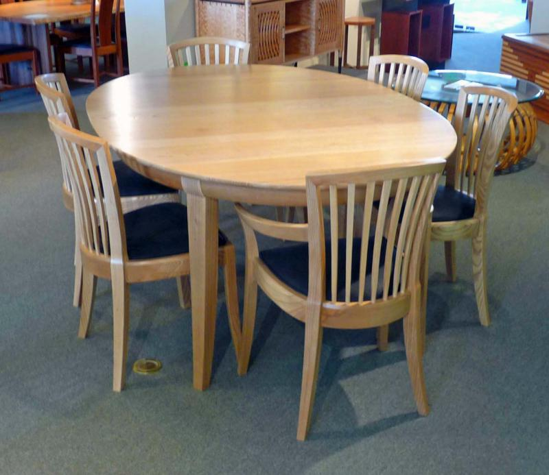 Laurel Dining Table - Medium Original shown with Fan chairs