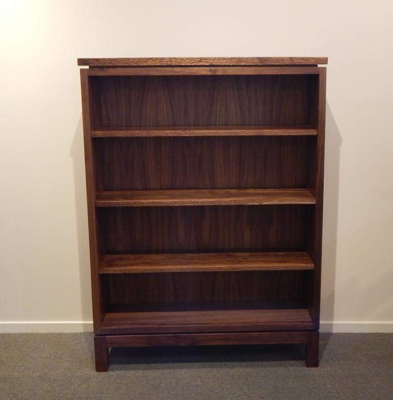 Hewn Edge Bookcase, Brad Gallahar