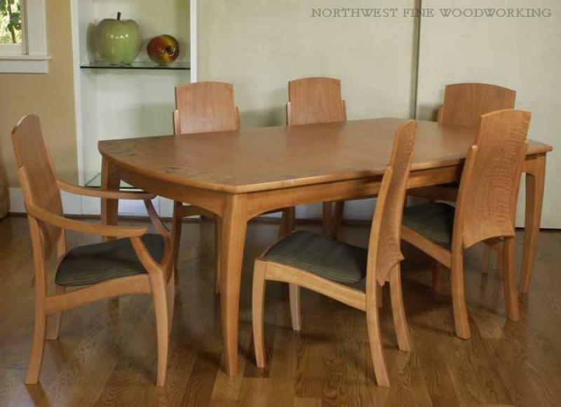 Madrona Table with Lopez Chairs