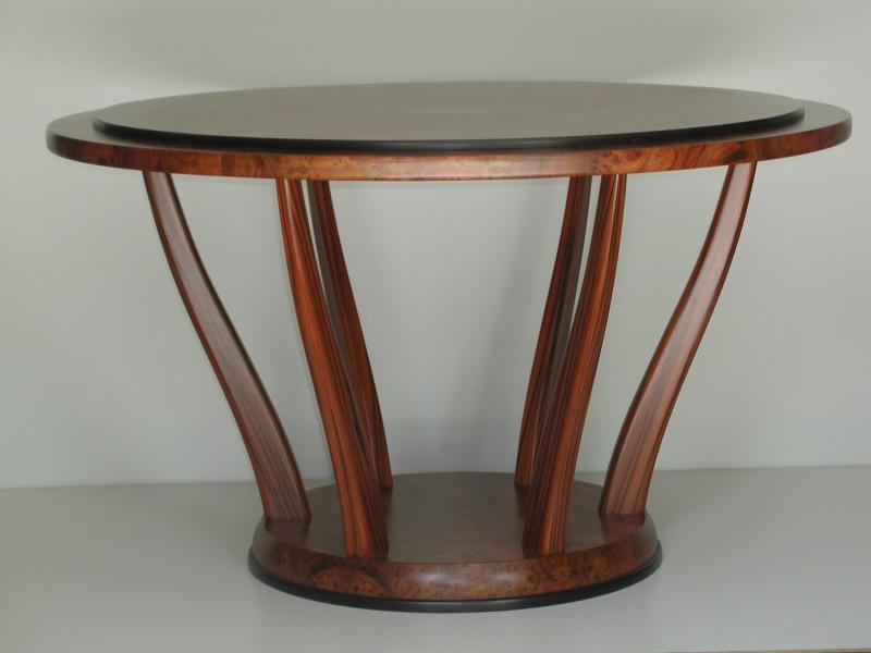 Harwood Foyer table