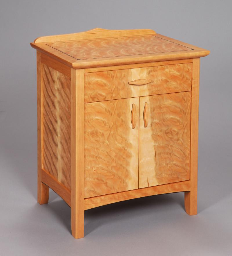 Pinnacle Cabinet Nightstand
