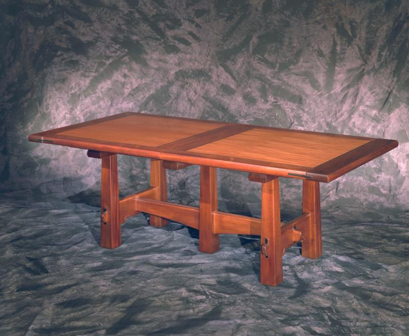 Pyramid Leg Dining Table