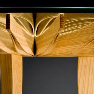 Closeup of table structure